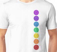 seven chakra circles Unisex T-Shirt