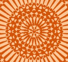 orange sacral chakra Sticker