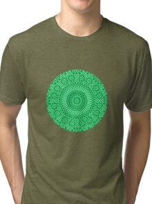 green heart chakra Tri-blend T-Shirt