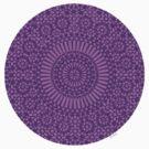 purple crown chakra by offpeaktraveler