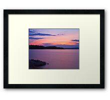 Nineteen Mile Light Framed Print