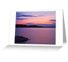 Nineteen Mile Light Greeting Card