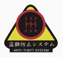 JDM - Anti-Theft System (Pattern 1) (dark) One Piece - Long Sleeve
