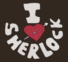 I <3 Sherlock - text by favoritedarknes