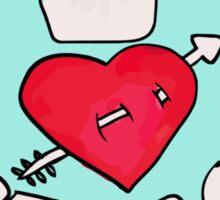 I <3 Sherlock Sticker