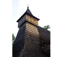 historic timber church Photographic Print