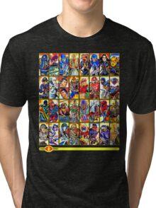 G.I. Joe in the 80s!  Cobra Edition! Tri-blend T-Shirt