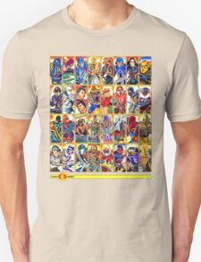 G.I. Joe in the 80s!  Cobra Edition! Unisex T-Shirt