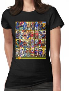 G.I. Joe in the 80s!  Cobra Edition! Womens Fitted T-Shirt
