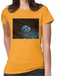 Submersed porcelain MASK² Womens Fitted T-Shirt