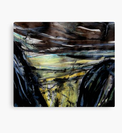 storm approaching.... Canvas Print