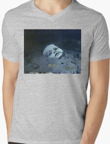 Submersed porcelain MASK Mens V-Neck T-Shirt
