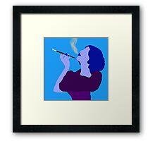 Vision in Violet Framed Print