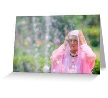 Impression of a Kashmiri Woman Greeting Card