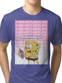 """""""you used to call me on my shellphone"""" Tri-blend T-Shirt"""