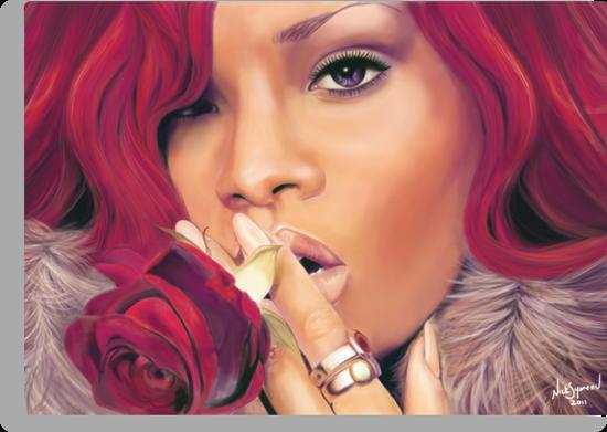 Rihanna by Nick Symeou