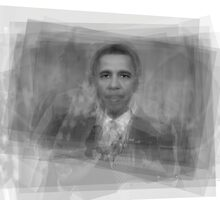 President Barack Obama  by Steve Socha