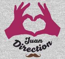 I Heart Juan Direction - Colour by Adriana Owens