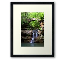 Springtime at Upper Falls Framed Print