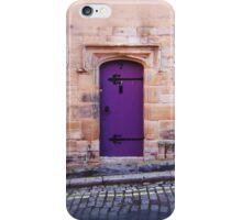 Purple Door iPhone Case/Skin
