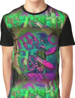 5734gv Buddha Graphic T-Shirt