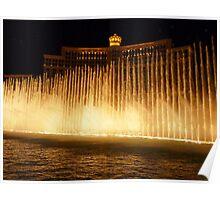 Hey Big Spender - Bellagio fountain - Vegas Poster