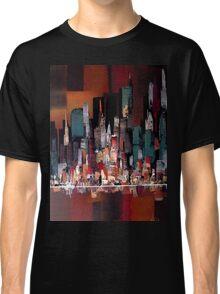 City Skyline Painting 3012 Classic T-Shirt