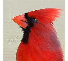 Bird Notes: Be Bold Photographic Print