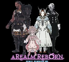 Leaders of Eorzea - Final Fantasy XIV: A Realm Reborn by Peter082790