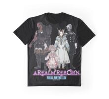 Leaders of Eorzea - Final Fantasy XIV: A Realm Reborn Graphic T-Shirt