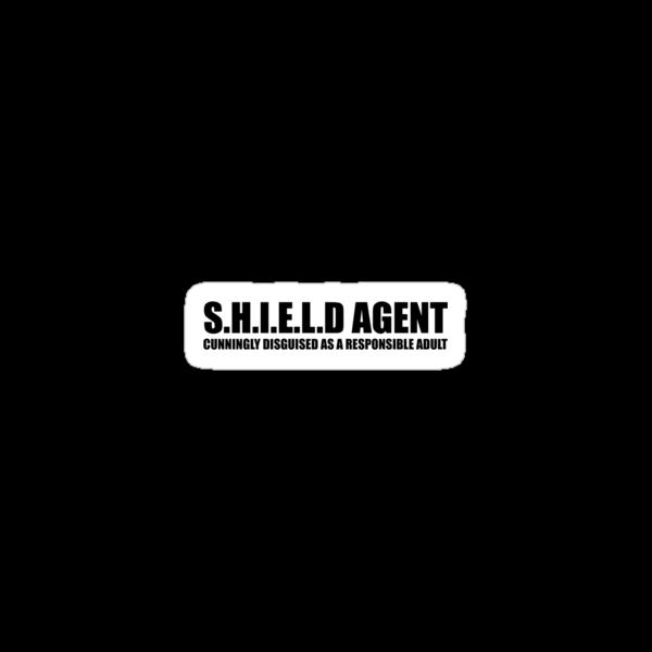 S.H.I.E.L.D AGENT by kjen20