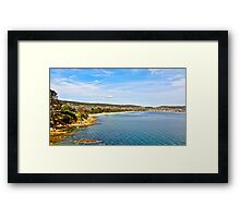 Howrah Beach Framed Print