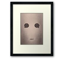 Prepare To Be Assimilated Framed Print