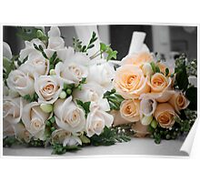 Bridal Bouquets Poster