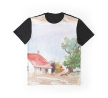 A Farmhouse somewhere in the Karoo Graphic T-Shirt