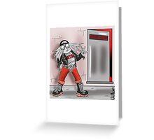 METALHEDZ 3 -  'SPEX' Greeting Card