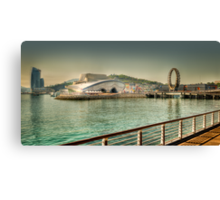 The EXPO 2012 area, Yeosu, South Korea Canvas Print
