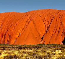 Uluru at sunset - Northern Territory by Hans Kawitzki