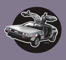 Delorean Iconic sportscar.. by GerbArt