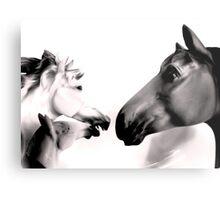 Dark Horses Metal Print