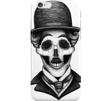Stack's Skull Sunday No. 8 (Charlie Chaplin) iPhone Case/Skin