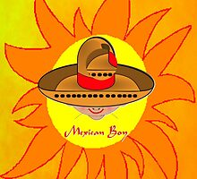 Mexican Boy in the Sun iPhone case design by Dennis Melling