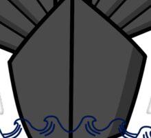 Battleship Sticker
