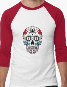 007 spectre skull logo 1 Men's Baseball ¾ T-Shirt