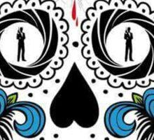 007 spectre skull logo 1 Sticker