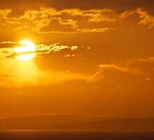 Arran Sun by brilightning