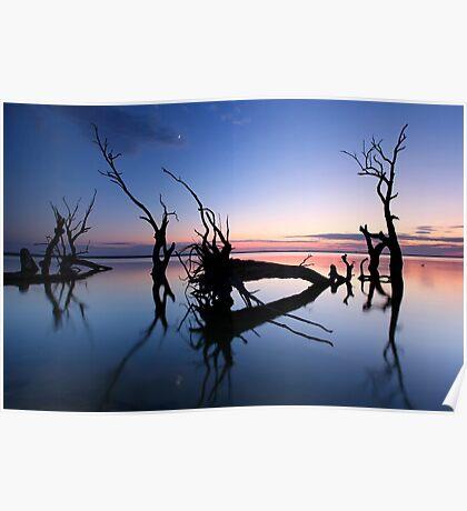 Lake Bonney Sunrise Poster