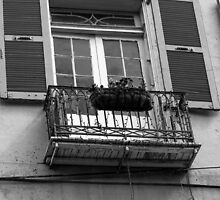 Balcony in French Quarter 5-2 by GJKImages