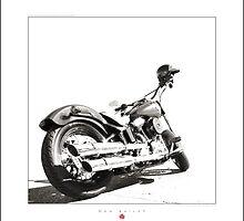 """Harley-Davidson Softail Slim "" by Don Bailey"