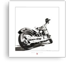 """Harley-Davidson Softail Slim "" Canvas Print"